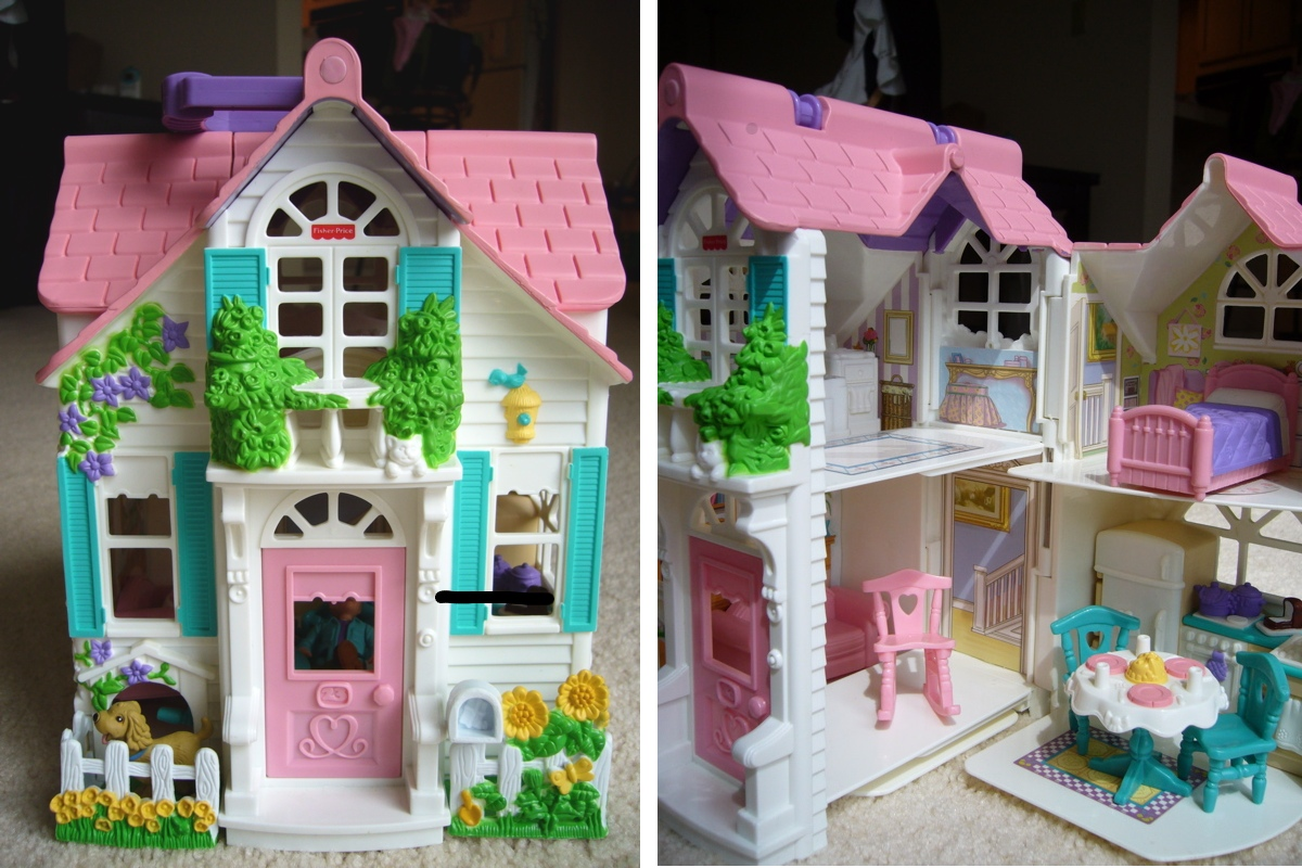 My Fisher Price Sweet Streets Doll House Margarete Miller