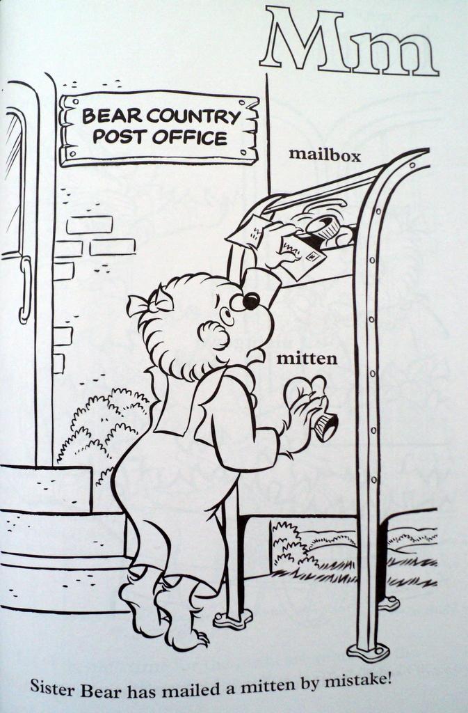 Berenstain Bears coloring book – Margarete Miller