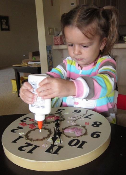 making a clock1