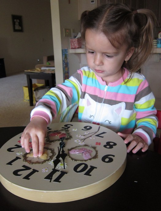 making a clock2