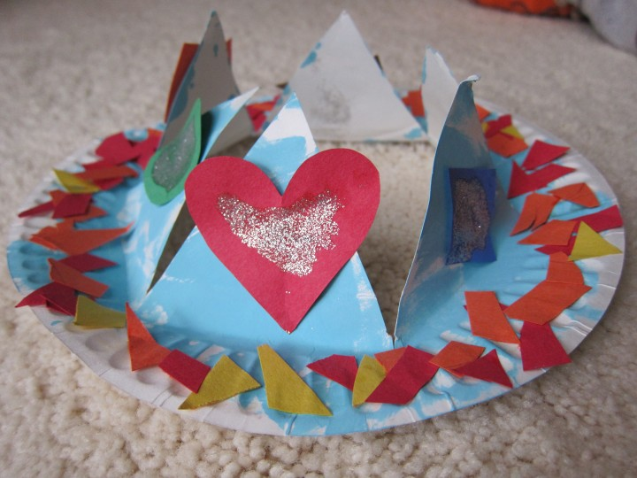 paper plate crown2