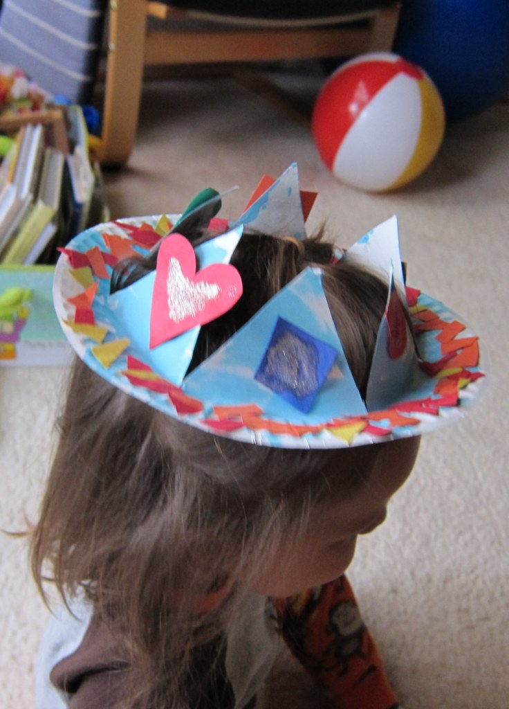 paper plate crown3