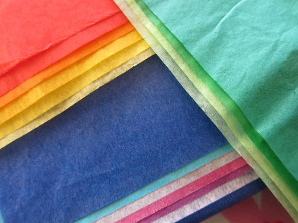 colored tissue paper Diy: tie-dye tissue paper this tutorial will walk you through how to successfully tie-dye tissue paper (because believe me it's actually a little tricky.