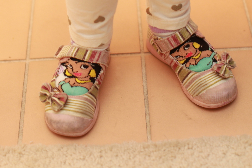 Princess Jasmine socks