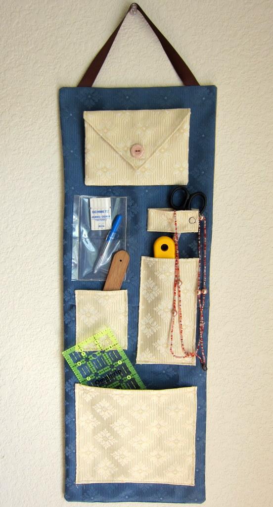 hanging wall organizer