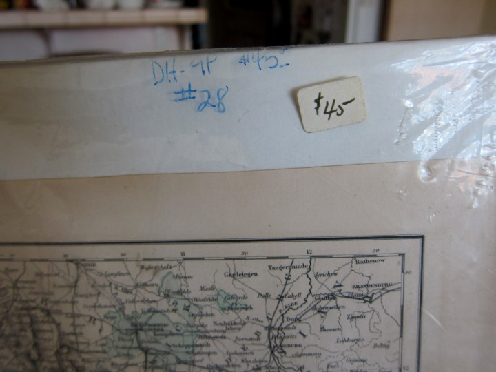 map price tag