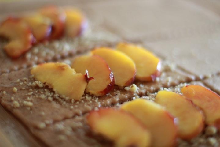 nectarine-filled pop tarts