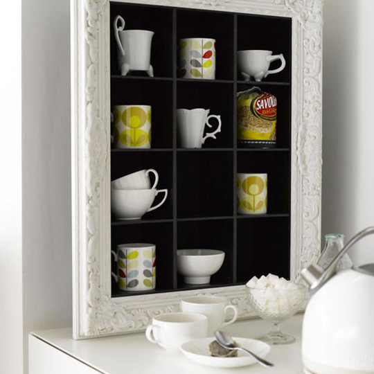 mugs and storage