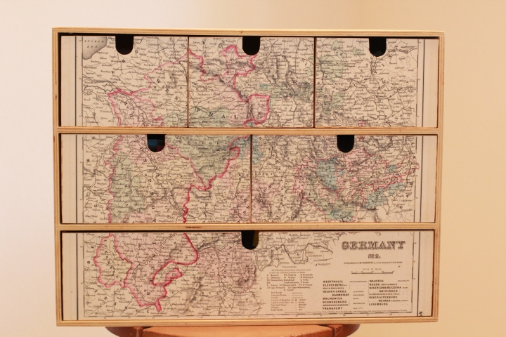 Panter's box - decoupage