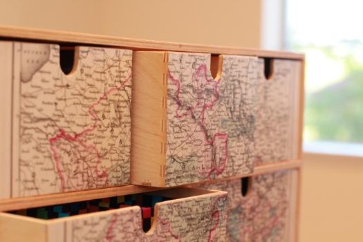 painter's box - drawers