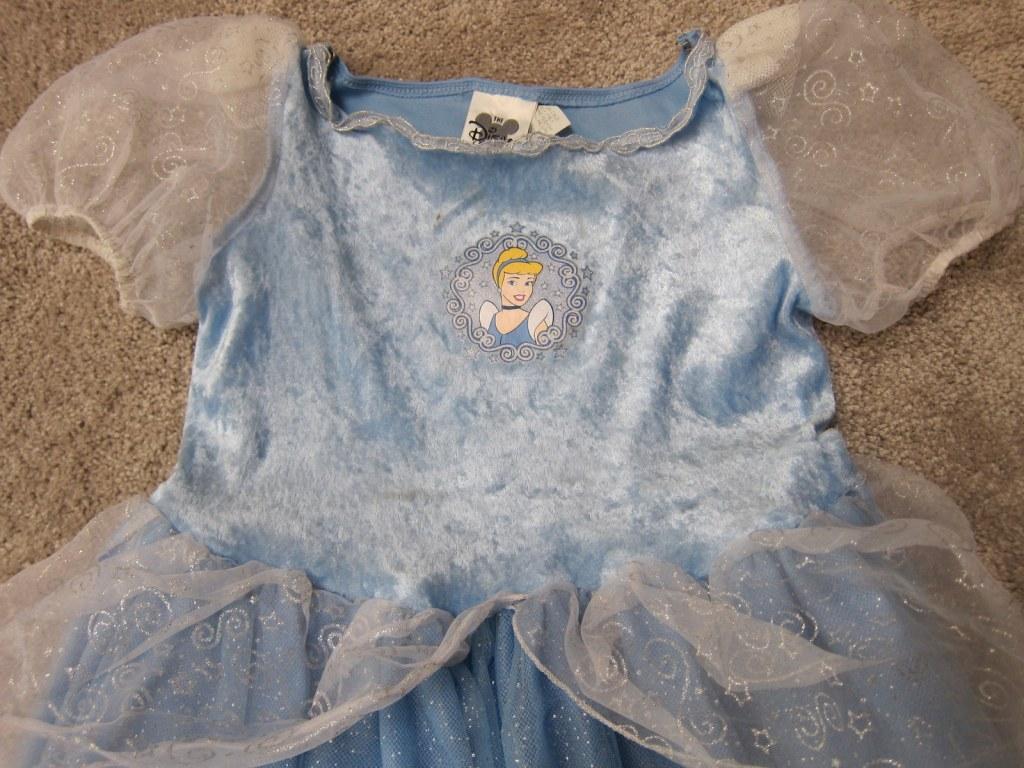 Cinderella costume - velvet