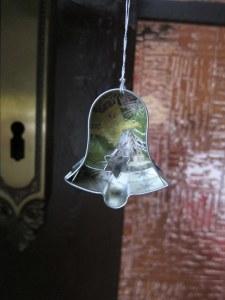 bell cookie cutter ornament
