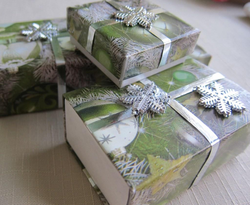 match box ornaments