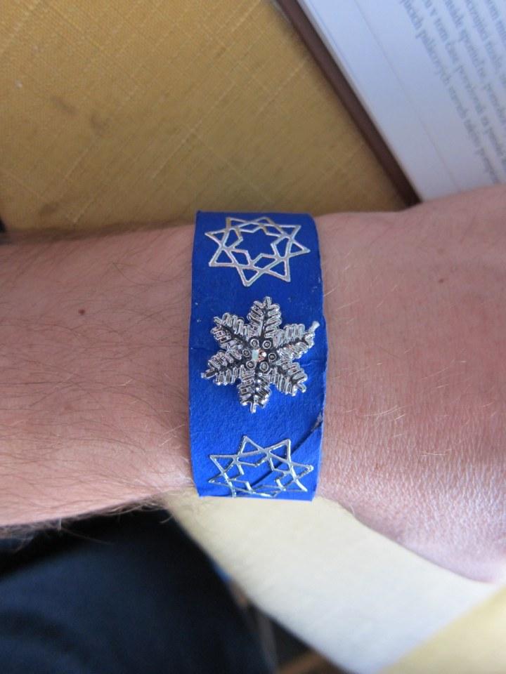 snowflake bracelet