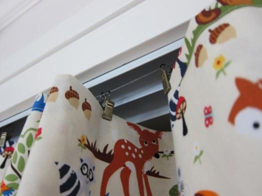hanging curtain rings