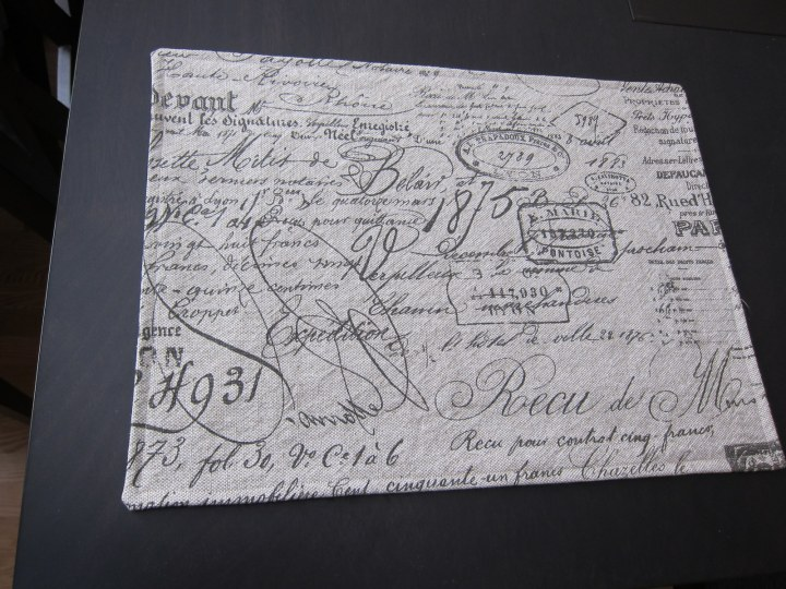 placemat - front