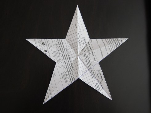 5 pointed star