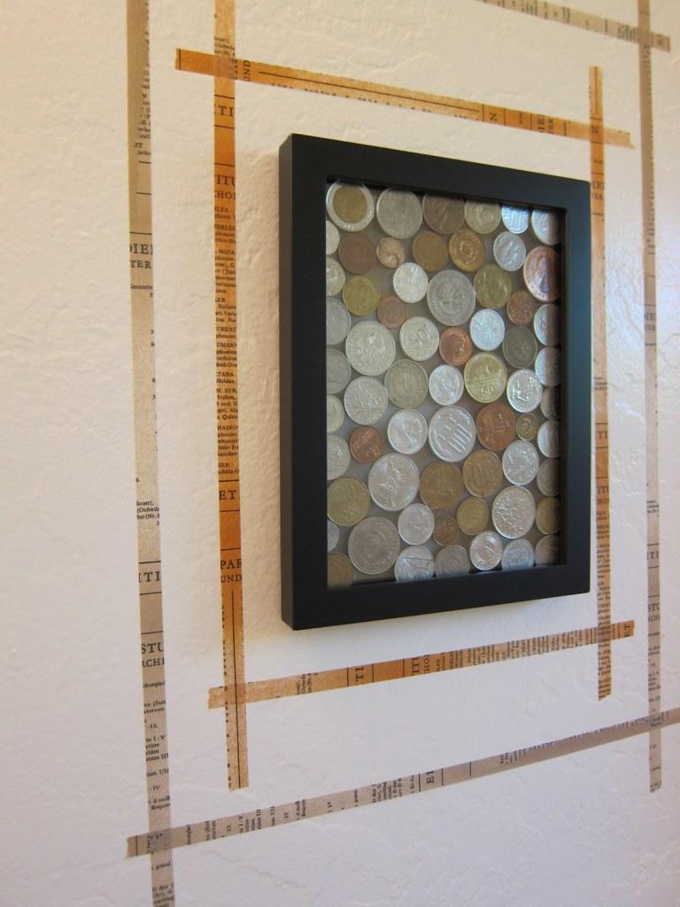 coin wall art