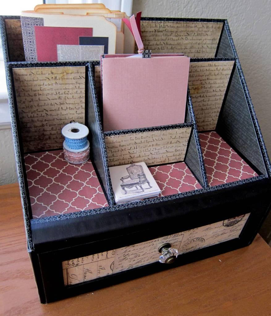 desk voyager box