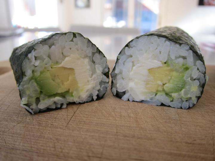 avocado cream cheese
