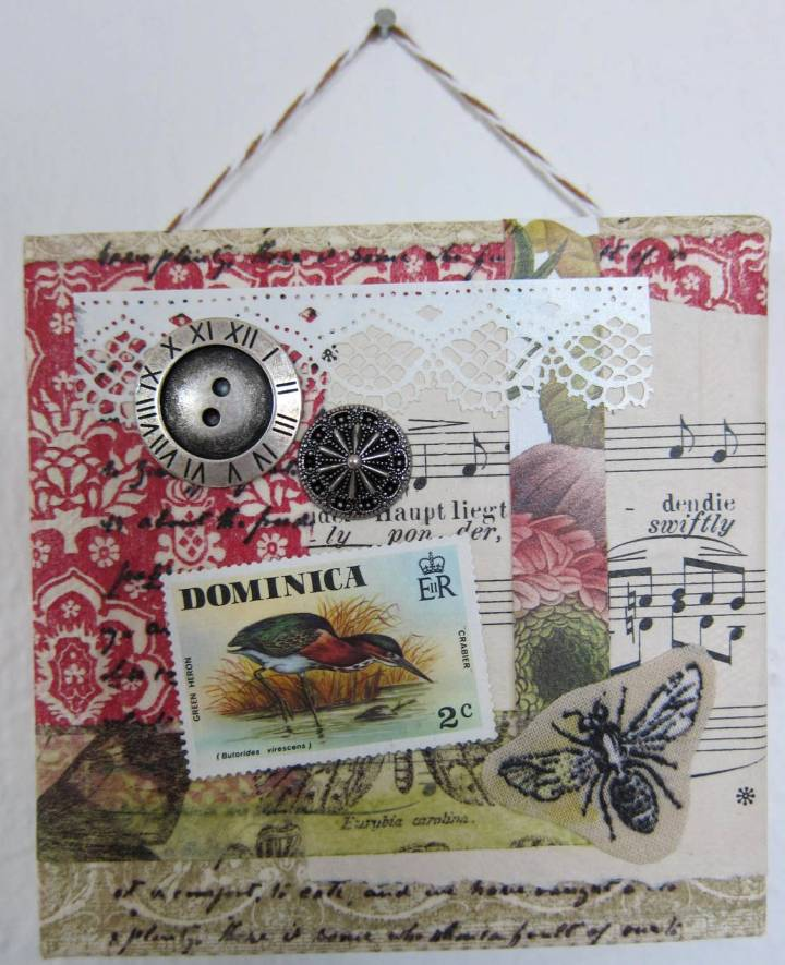 collage art - Dominica