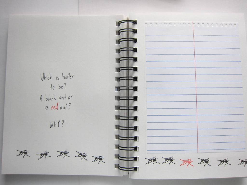 ant writing prompt