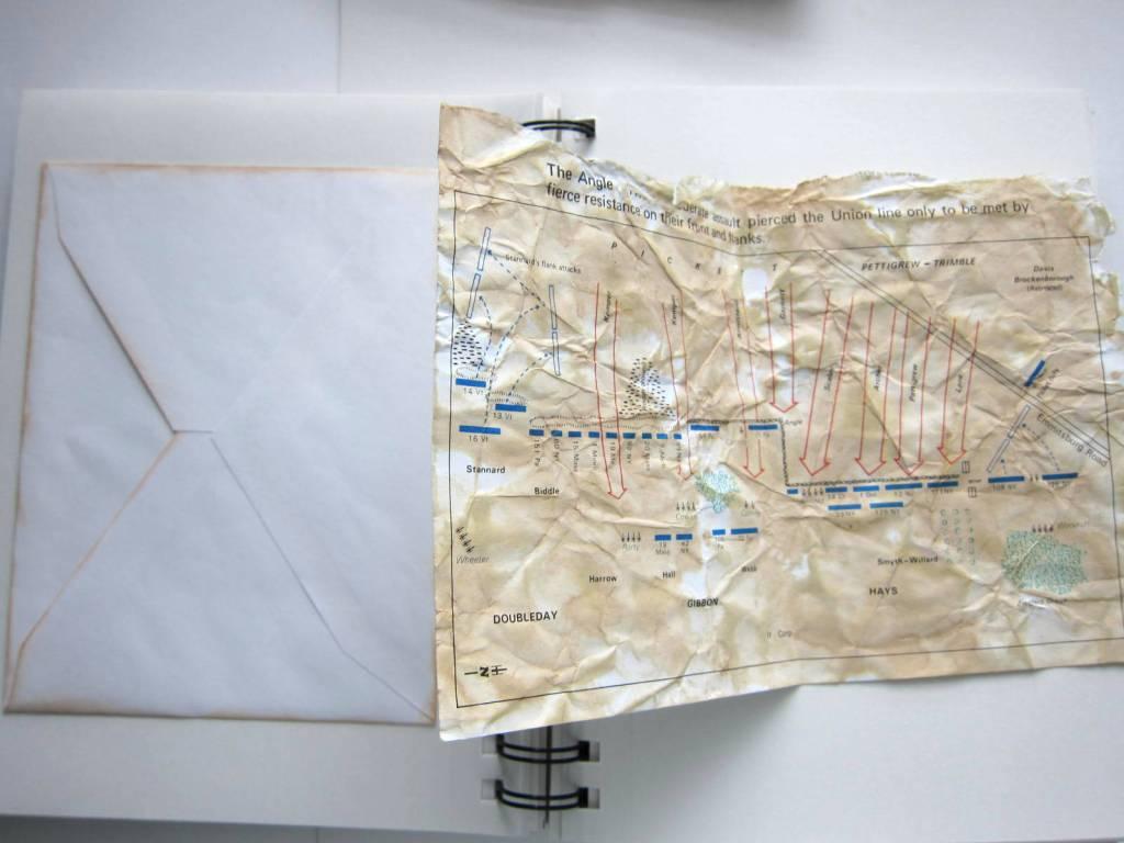 map of a Civil War battle
