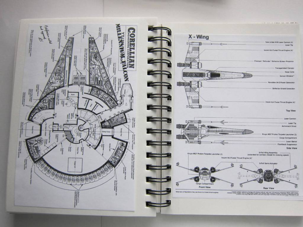 star wars blue prints