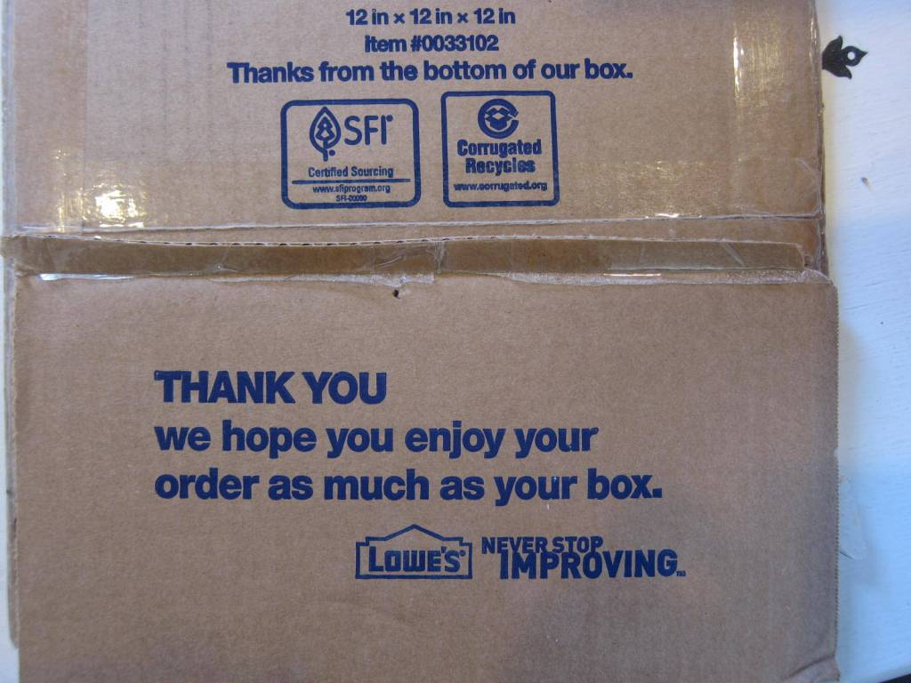 Thank you Lowes