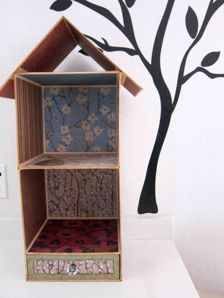 birdhouse shelf