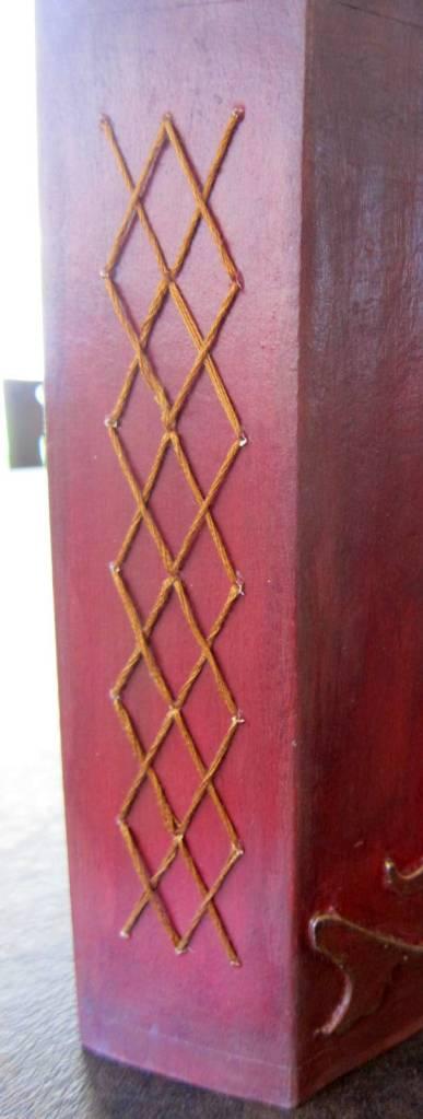 book binding cross stitch