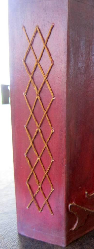 cross stitch spine