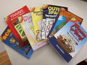 mini Dover books