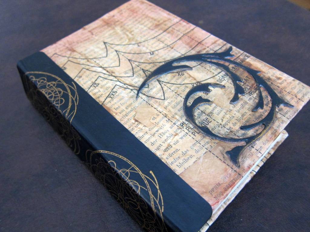 cover with flourish