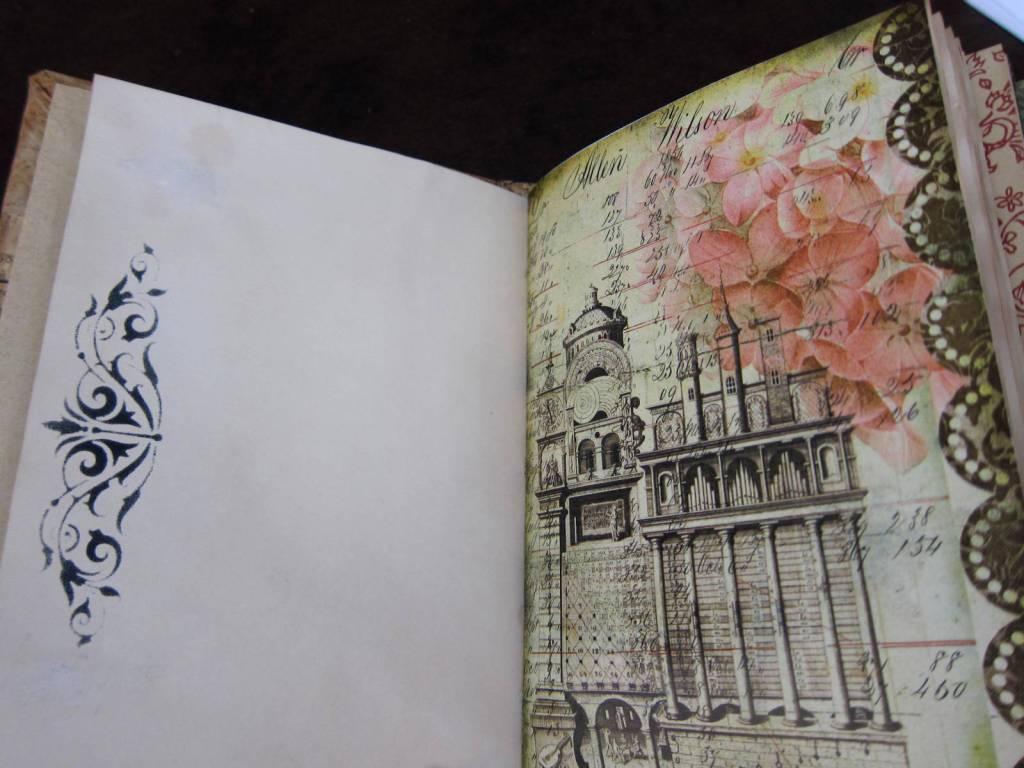 embellished journal page 3