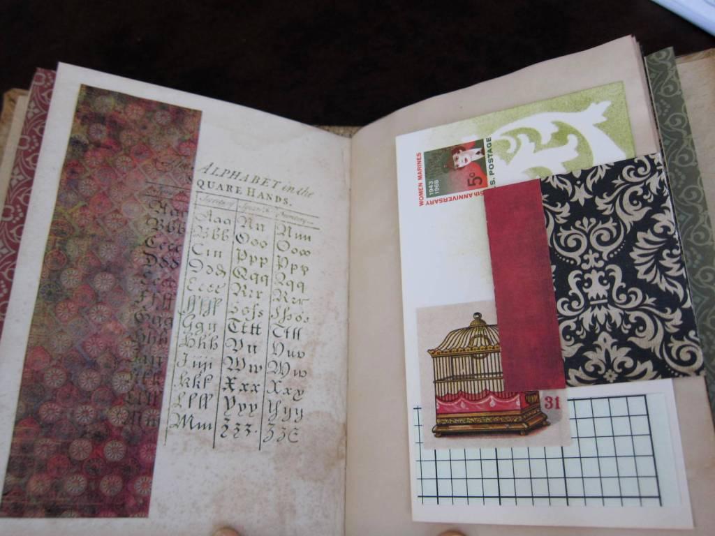 embellished journal page 2