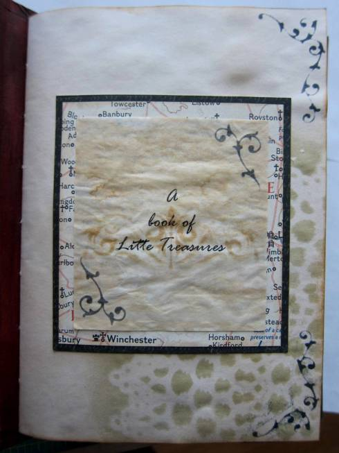 A book of little treasures