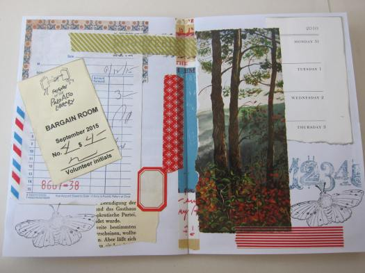 junk journal page 2
