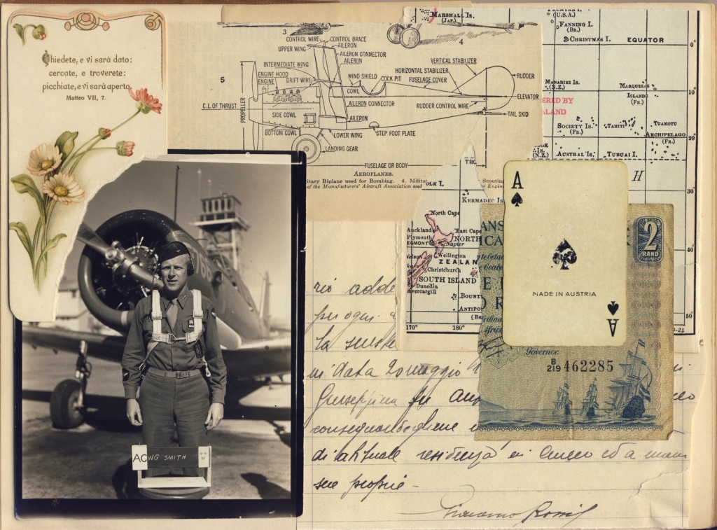 flying ace collage