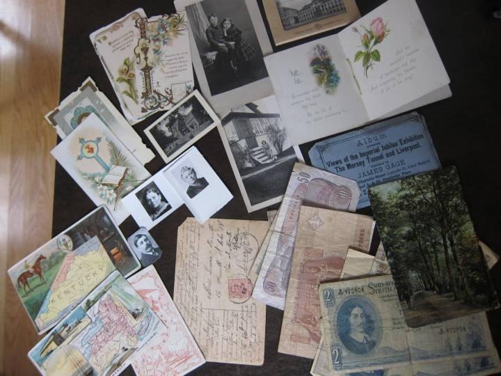 Vintage paper haul