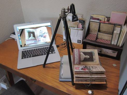 camera desk setup