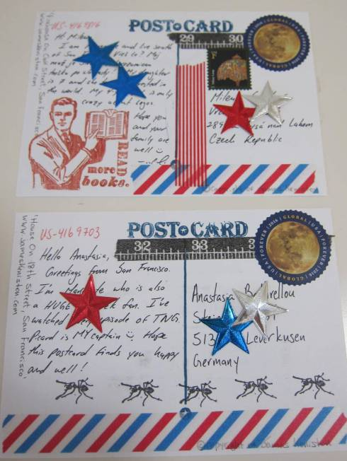 mail art sent