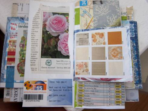 collaging junk mail jj 2