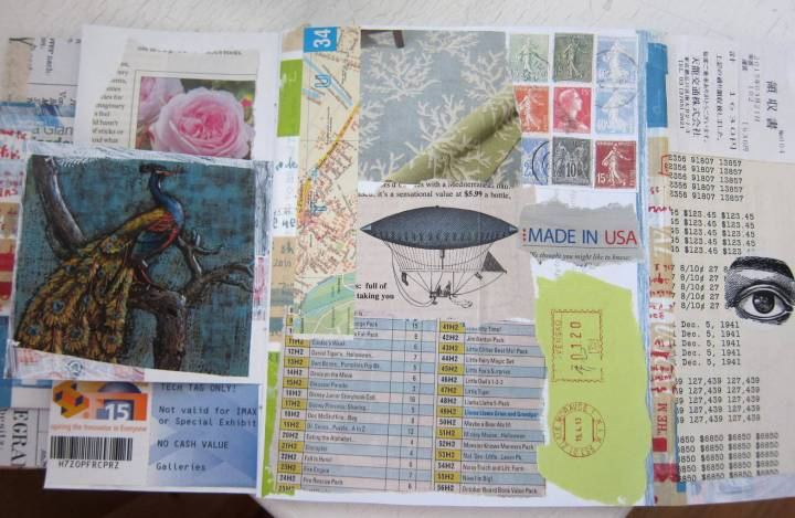 collaging junk mail jj 3