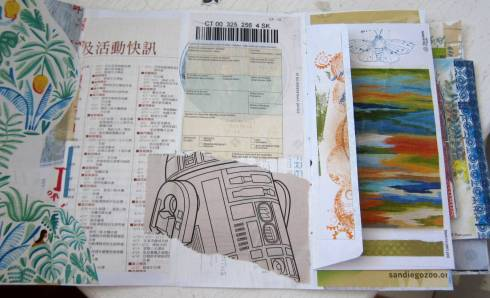 collaging junk mail jj 4