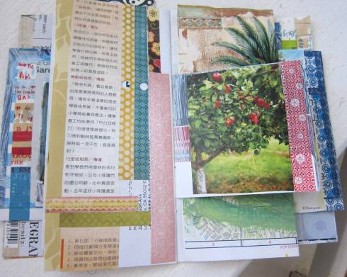 collaging junk mail jj 5