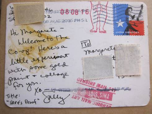 mail art postcard 1