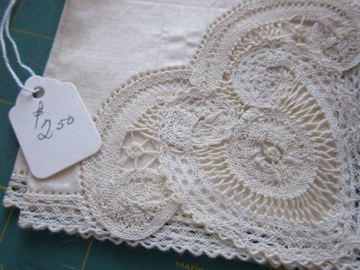 Sunnyvale lace handkerchiefs