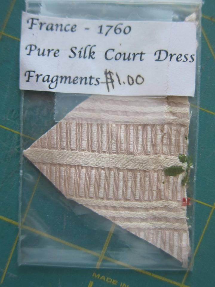 1760 silk court dress