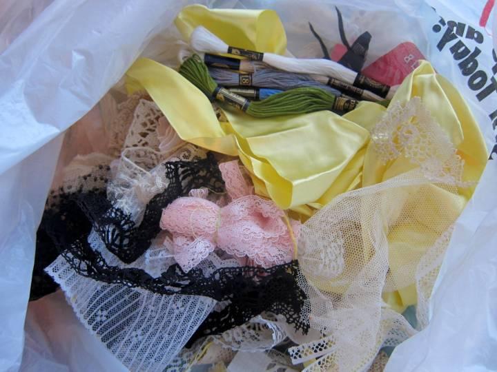 lace grab bag
